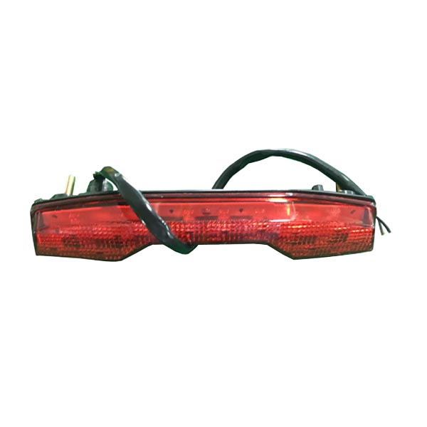 Motorcycle Rear LED Taillights Brake Running Lamp Red Lens For Suzuki LTR450