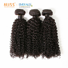 Bliss Emerald Virgin Indian 3IN1 3 Bundle Baby Deep Curly Weave Cuticle Aligned Human Hair with Closure and Frontal