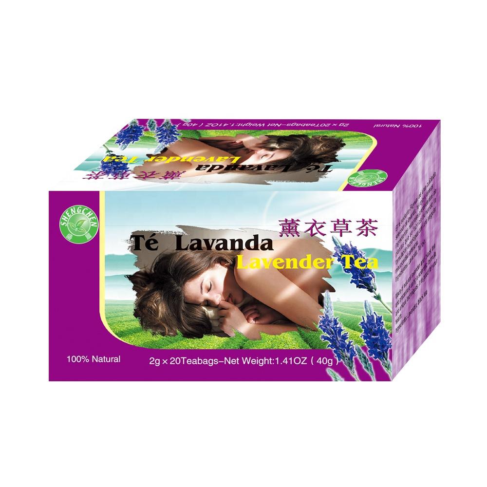 OEM private label for 2g*20bags/box 0.002 Weight (kg) healthy sleep lavender flower tea - 4uTea   4uTea.com