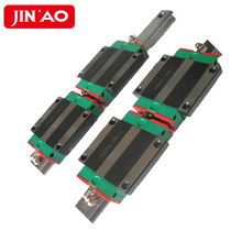 100% Original HIWIN Linear Rail ชุด 2pcs HGR15 คู่มือเชิงเส้น + 4pcs HGW15CA Linear Rail BLOCK