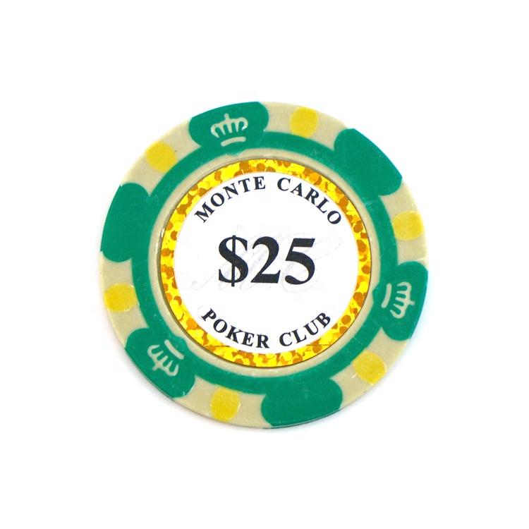 Wholesale Cheap Custom Denomination Oversized Juego Golf Mini Metal Casino Poker Chip