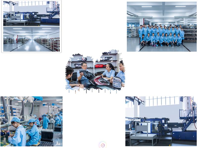 VLAND için fabrika Toptan fiyat otomobil ön farı Otomatik lamba 2012 için 2013 2014 2015 Elantra Far modifiye projektör lens