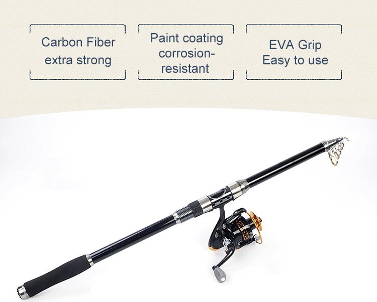 ポータブル炭素繊維ロッドサプライヤー oem 釣竿ブランクナノ
