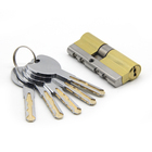 European Profile Solid Brass Double Open Safe Lock Cylinder 2+5 Normal or Computer Keys