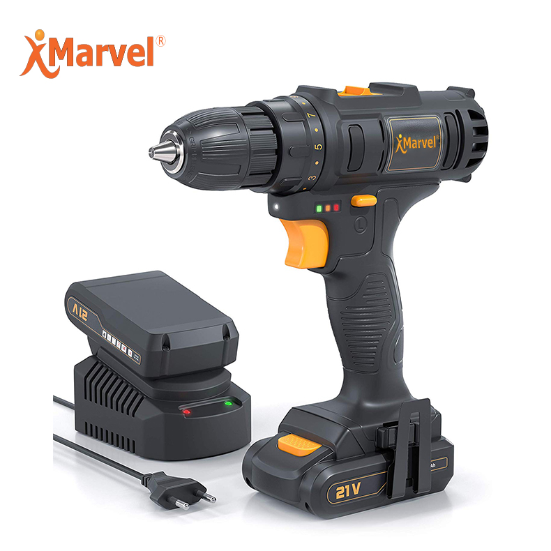 MARVEL Power Max Reversable CE GS ROHS Certificates 10mm 1.3Ah 1.5Ah 2.0Ah 21V 14.4 <strong>v</strong> 1500mah pigeon cordless drill