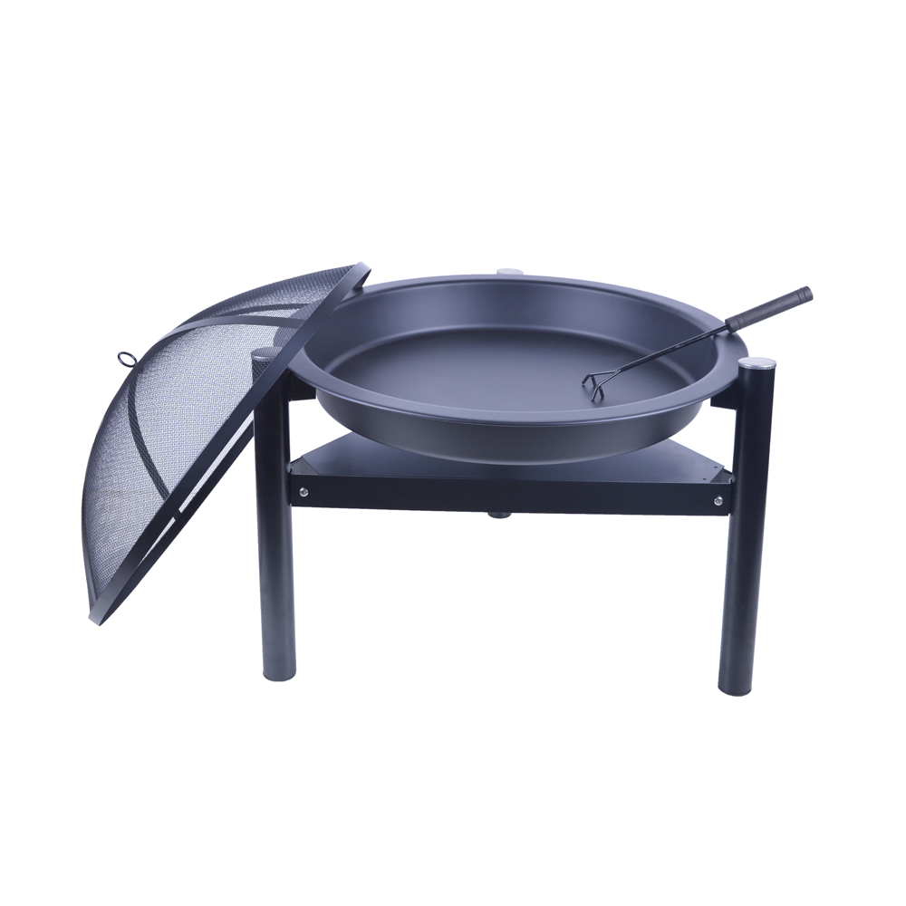 Outdoor Three Legs  Firepit BBQ Wood Burning Fire Pits