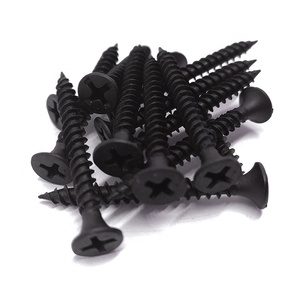 phosphated and galvanized,Perfect quality and bottom price black drywall screw