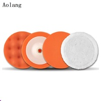 High End Custom Design Car Foam Buffing Pads Sponge Polishing Wheel