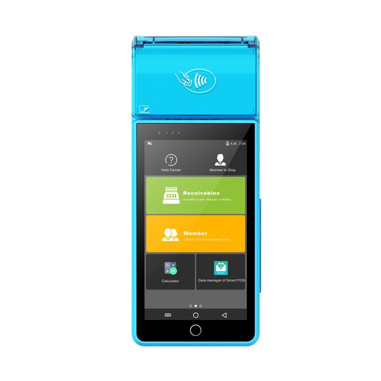 MiNJCODE MJT1 сенсорный экран Ресторан мобильный POS кассовый аппарат Android терминал POS системы