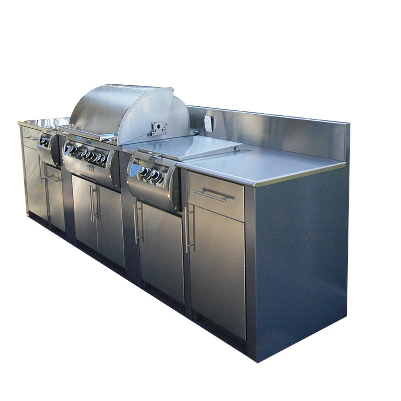 Wholesale Bbq Barbecue Stainless Steel Outdoor Kitchen Cabinets Island  Grill - Buy Stainless Steel Outdoor Kitchen Cabinets,Outdoor Kitchen ...