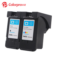 Colorpro ink cartridge PG-245XL CL-246XL compatible for Canon Pixma MX490 492 TS202 302 3120 printer ink tank 245 246