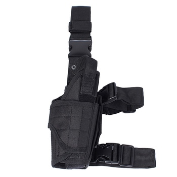 Tactical Airsoft Universal Tornado Right Drop Leg Pistol Gun Holster fits Glock 17 19 23