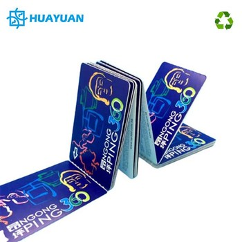 Hot-sale CMYK Printing MIFARE Ultralight EV1 Chip RFID Paper Tickets for Train