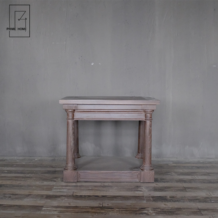 Fancy Wood End Table Simple Design Bed Side Table For Sale