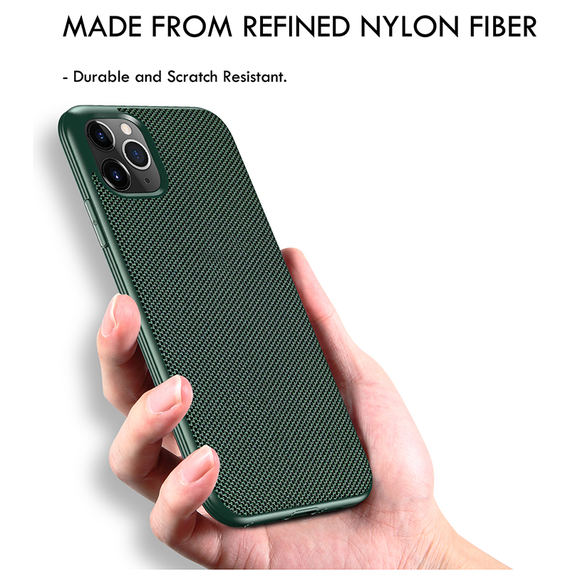 2020 Newest Upgrade Shockproof Cellphone Case For iPhone 11 Cover Classical Style Nylon Cloth iPhone XR Mobilephone Case