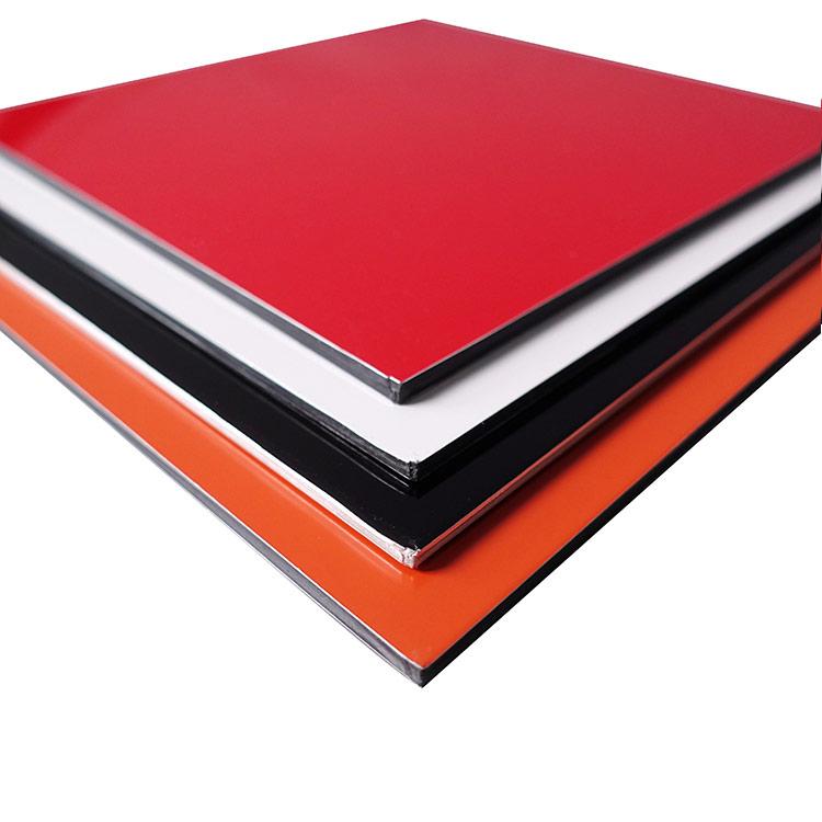4mm PVDF/FEVE Finished Alucobond Aluminum Composite Panel