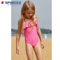 Wholesale Baby Girls Swimsuit One Piece Kids Bathing Suit Little Girls swimwear