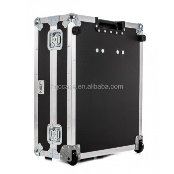 China customized trolley imac 27 flight case with two wheels