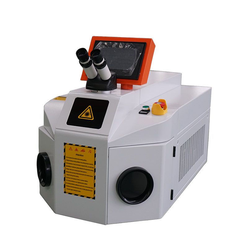 Desktop 200W YAG jewelry laser welding machine for Gold and silver jewelry welding