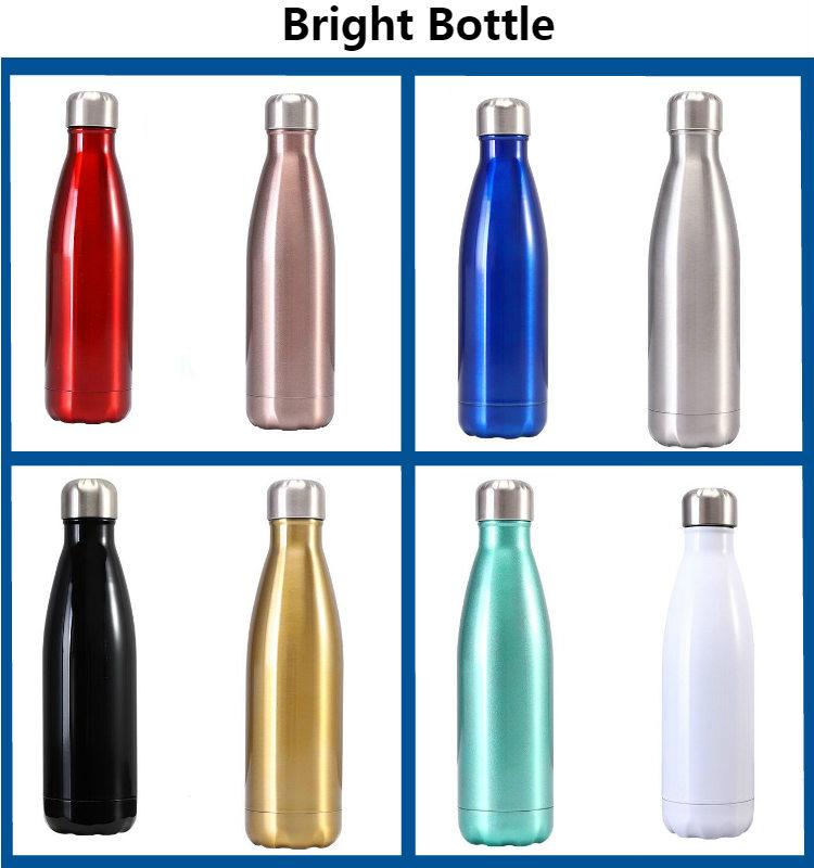 Groothandel Custom Hydro 1000 ML Energie Bullet Type Onbreekbaar Coca Vacuüm Cola Thermos Vullingen Roestvrij Staal Water Fles Fles