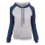 2019 New Long Sleeved Slim Multicolor Stitching Winter Women Pullover Hoodies