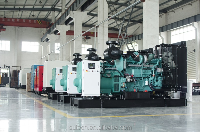 300kva diesel generator powered by Cummins engine with silent canopy