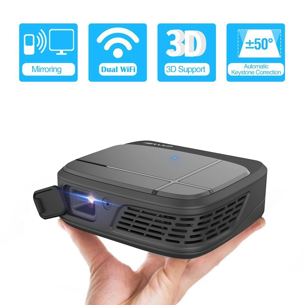 Mini projektor LED full hd 1080P video beamer tragbare home theater kino Smart 3D film projektor
