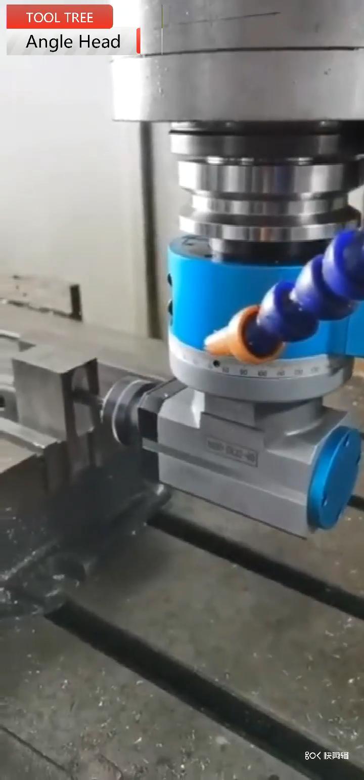 工作機械 90 度 CNC 角度ヘッド水平フライスヘッド BT30 BT40 BT50 ER16 ER25 ER32 角ヘッド