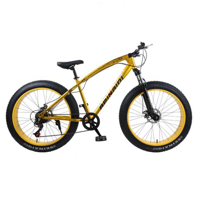 cheap adult 26 inch 4.0 big fat tire 7 variable speed sandy beaches mountain bike <strong>bicycle</strong>