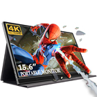 15.6 inch 4k portable monitor usb type-c china best gaming LCD monitor for computer pc ps4 mac smartphone