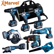 MARVEL Uitvoerder Reversable 40Nm CE GS ROHS Certificaten 10mm 1.3Ah 1.5Ah 2.0Ah 16.8V cordless combo boor kit