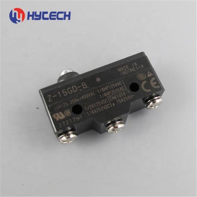 omron micro switch Sensor Switch 15A 250VAC 3 Screw Terminals Panel Mo  zippy micro switch TM-1306  Z-15GD-B