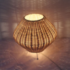 Antique Lamp Table Antique Table Lamp Shades Handmade Material Bamboo Lampshade Home Decor Wicker Antique Chinese Lamp Shade For Table Lamp Led Light Housing