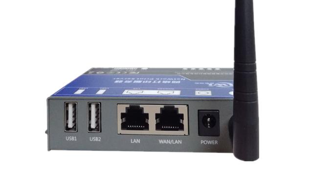 ワイヤレス無線 lan ネットワークプリントサーバー usb プリンタ 2 usb ポート