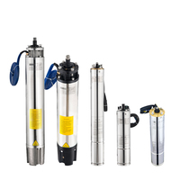Guangdong Manufacturing AC well solar pump submersible motors Deep Well Water Pump Fountain pump DC pumps for agricultural