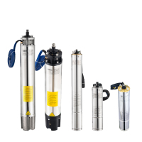 Guangdong Manufacturing AC well solar pump submersible motor Deep Well Water Pump Fountain pump DC pumps for agricultural