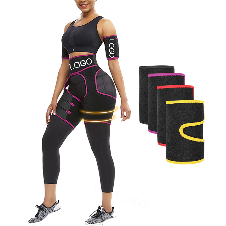 Good Quality Yellow Neoprene Sticker Arm Slimmer Body Shapers Women Shapewear
