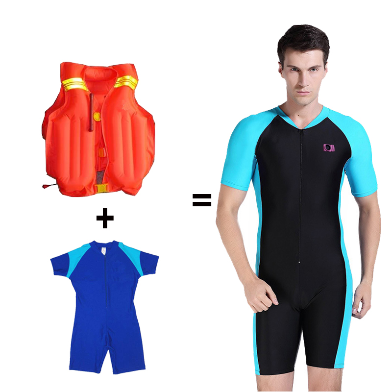 KSOS Kids Shorty Wetsuit Zip Spring Suit Snorkeling Surfing Swimming for sale