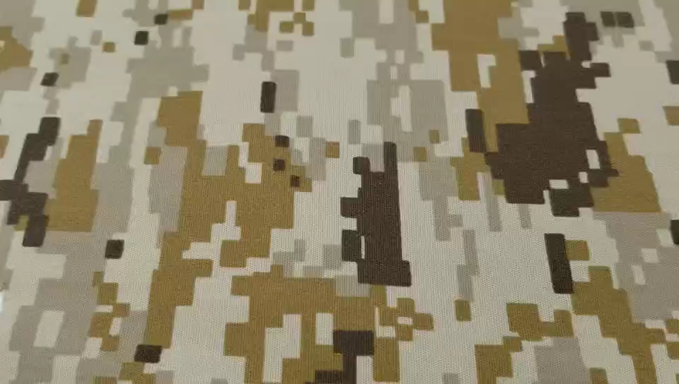 65%polyester 35%cotton Camouflage Military Uniform Fabric
