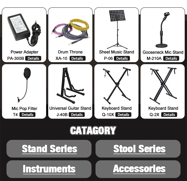 Universal Fixed Mount Suspension  Microphone Arm Stand