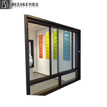 OEM ODM Commercial Acoustics Sealing Thermal Break Aluminum Fixed Sliding Windows With Clear Glass