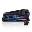 9.6 inch display screen full hd 1080p dual lens dash cam front rear camera