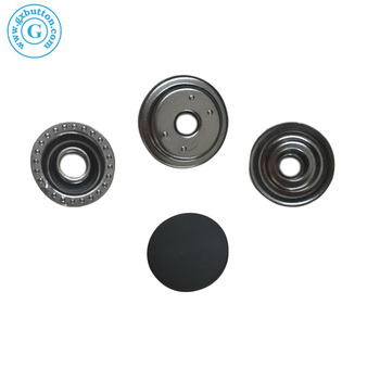 Eco-friendly rubber snaps,rubber button for clothes