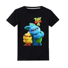 Printed Baby Boy Toddler Kids Clothes Children T-shirt Vampirina Girls Tops Toy Story Shirt Christmas T Shirt Christmas Clothing(China)