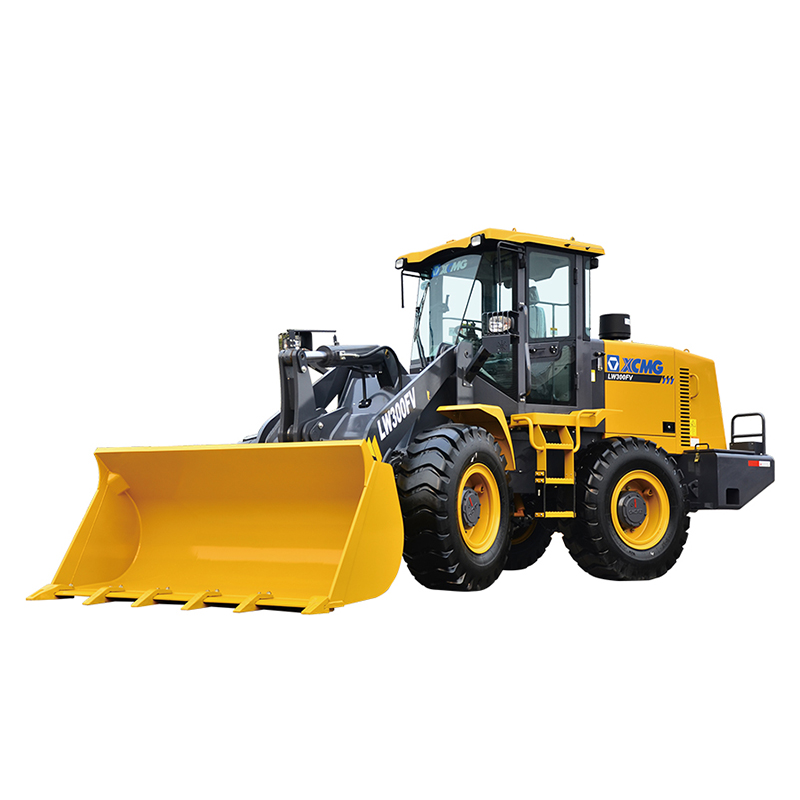 Used LW300KN Wheel Loader Front End Loader 3000kg Rated Load 1 Years Warranty