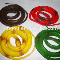 Lifelike Soft Plastic Snake Toy