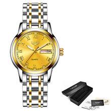 Новый Для женщин часы LIGE Топ Элитный бренд леди мода Повседневное Простой Полный Сталь наручные часы подарок для девочек 2019 Relogio Feminino(Китай)