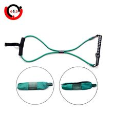 Body Building 8 Resistance Band Tube ชุด Tube Exerciser