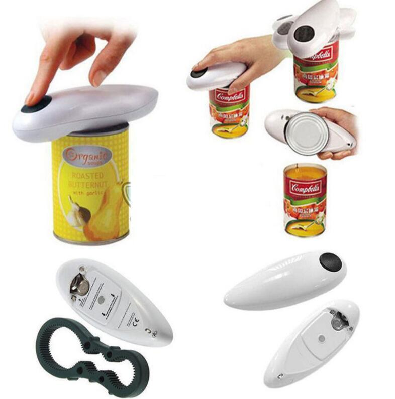 E1479 Kitchen Tool Cordless Battery Operated <strong>Automatic</strong> One Touch Can <strong>Opener</strong> <strong>Automatic</strong> Jar Tin <strong>Bottle</strong> Electric <strong>Opener</strong>