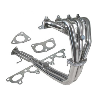 Stainless Steel Exhaust Racing Header 90 91 92 93 For HONDA For ACCORD DX LX EX 2.2L 4-2-1
